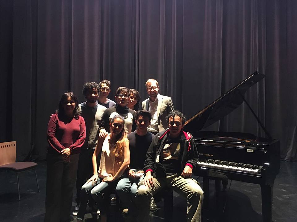 Piano masterclass in Irapuato
